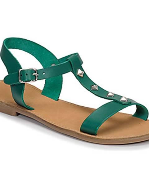 Zelené sandále André