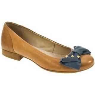 Nízka obuv do mesta Karino  DÁMSKE BÉŽOVÉ BALERÍNY CHANCE