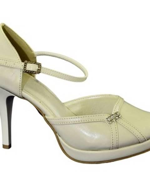 Béžové sandále John-C