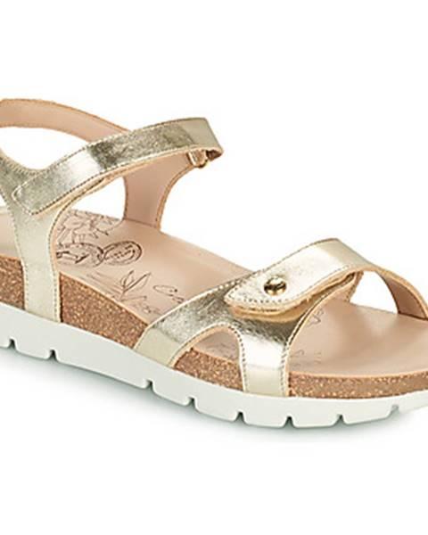 Zlaté sandále Panama Jack