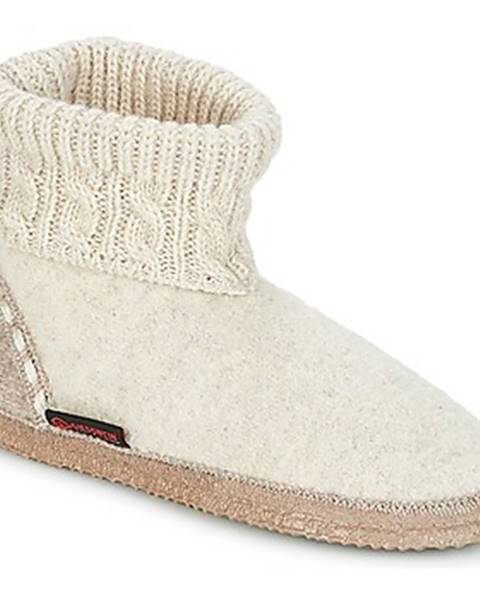 Béžové papuče Giesswein