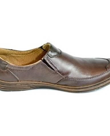 Hnedé topánky Krezus