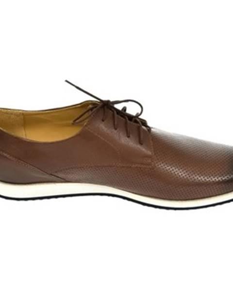 Hnedé topánky Oleksy
