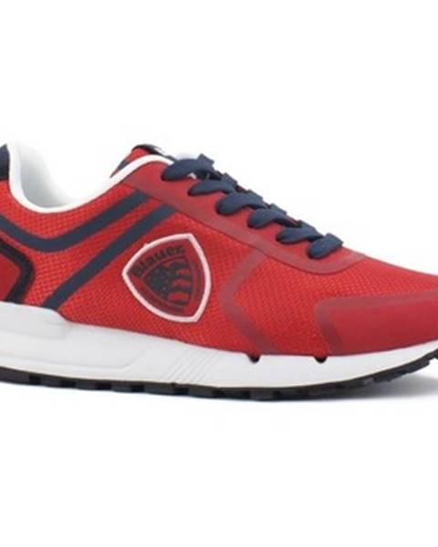 Červené tenisky Blauer