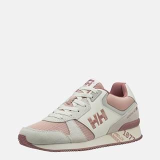 Ružovo-krémové dámske semišové tenisky HELLY HANSEN