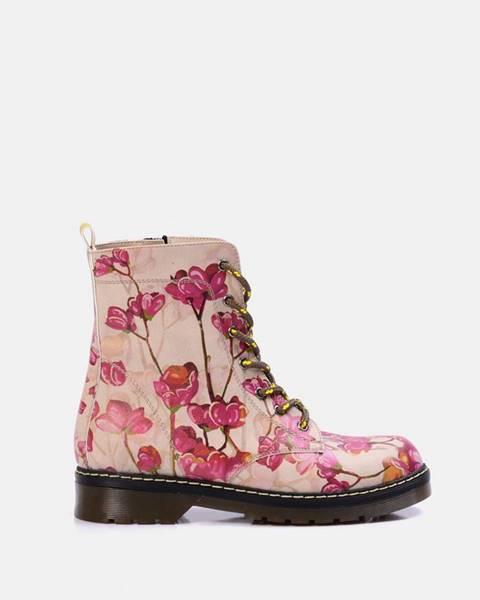 Ružové topánky goby