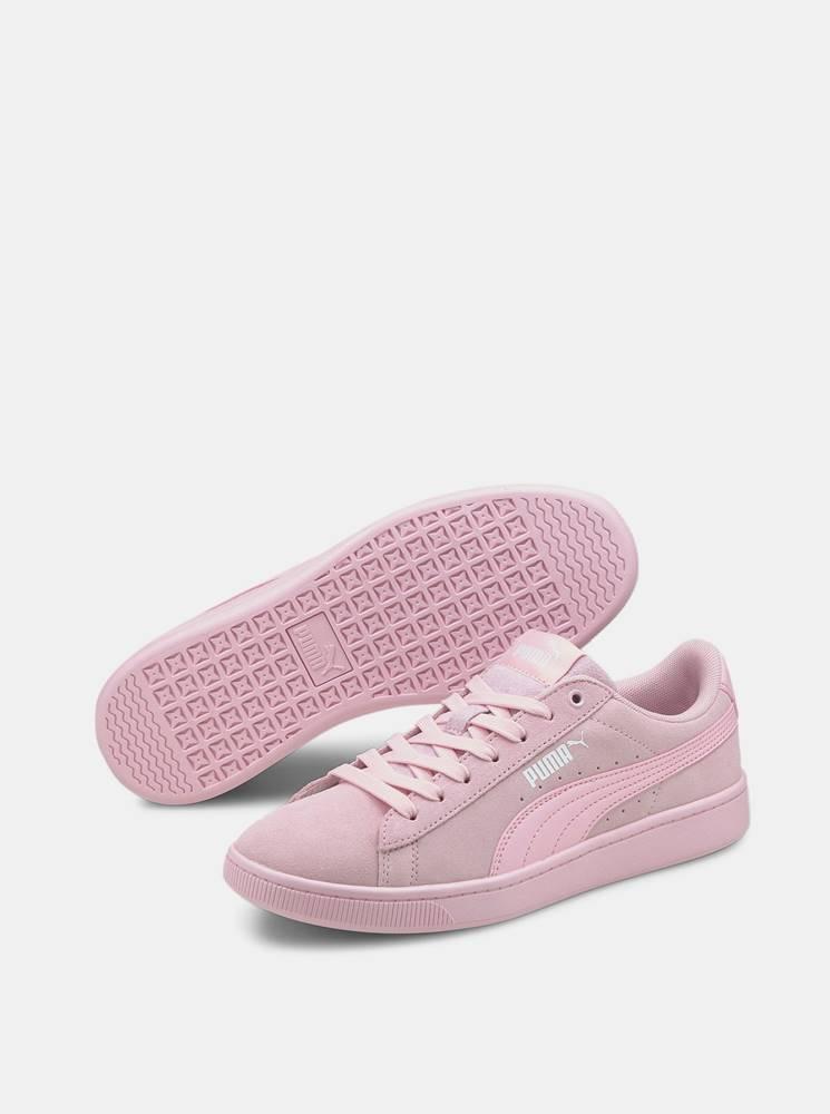 Puma Ružové dámske semišové tenisky Puma