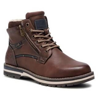 Šnurovacia obuv Tom Tailor 908550290 Imitácia kože/-Imitácia kože