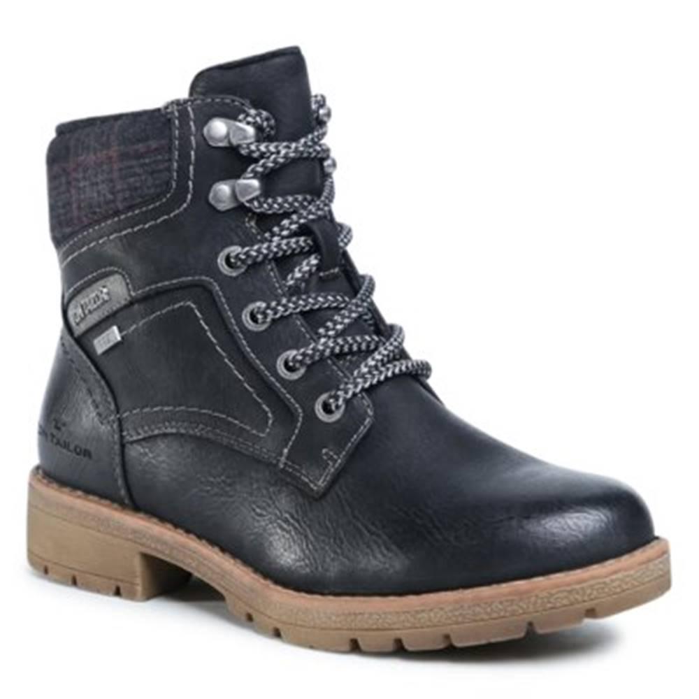 Tom Tailor Šnurovacia obuv Tom Tailor 909200400 Imitácia kože/-Imitácia kože