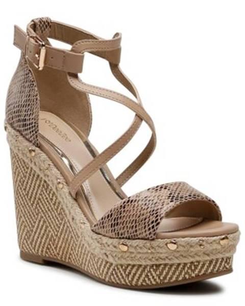 Béžové sandále DeeZee