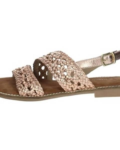 Ružové sandále Marco Tozzi