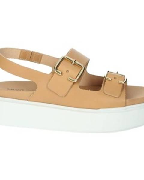 Béžové sandále Frau