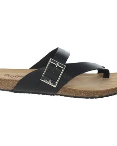 Čierne sandále Yokono