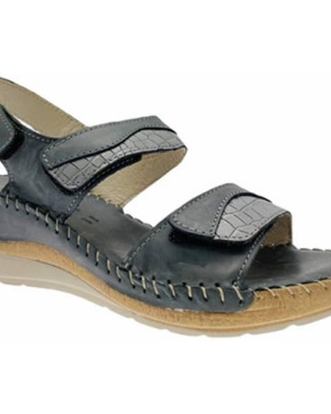 Modré sandále Riposella