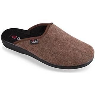 Papuče Mjartan  Pánske papuče  NERO