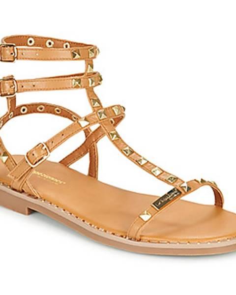 Hnedé sandále Les Tropéziennes par M Belarbi