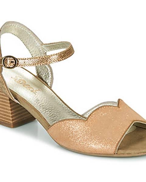 Zlaté sandále Sweet