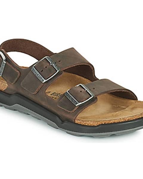 Hnedé sandále Birkenstock