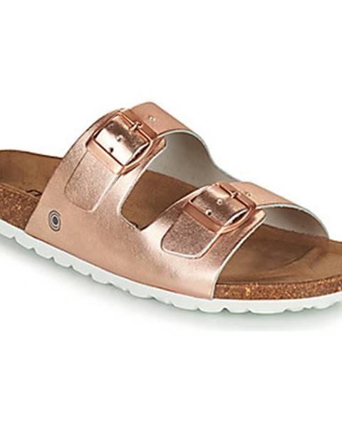 Zlaté topánky Casual Attitude