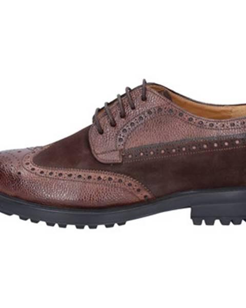 Hnedé topánky Giulio Moretti