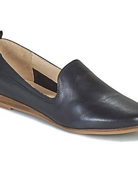 Čierne topánky San Marina