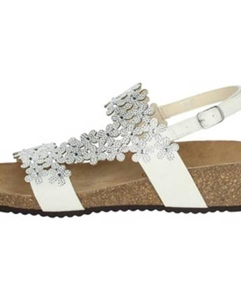 Biele sandále Grunland