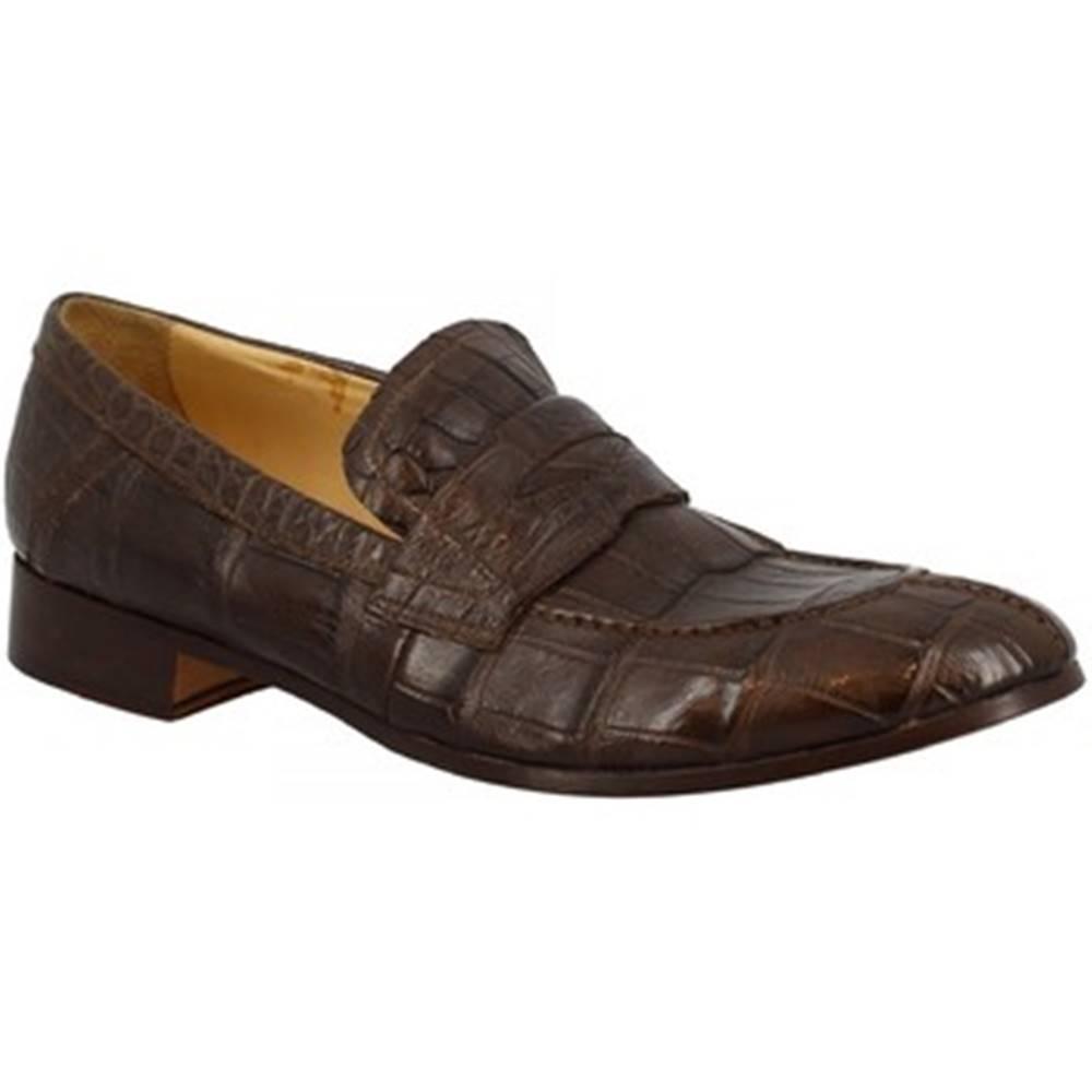 Leonardo Shoes Mokasíny Leonardo Shoes  SANREMO COCCO TDM