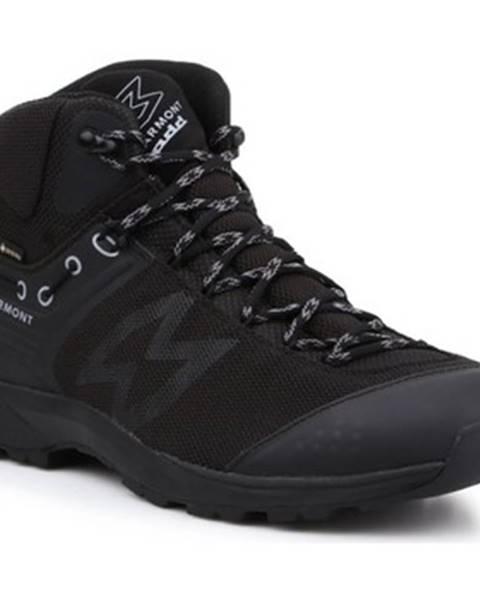 Čierne topánky Garmont