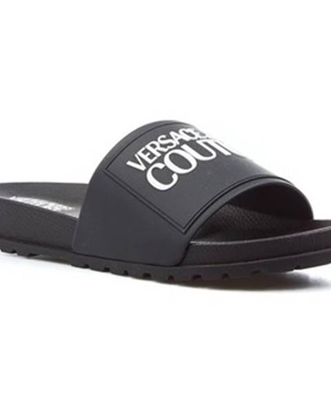 Čierne topánky Versace Jeans Couture