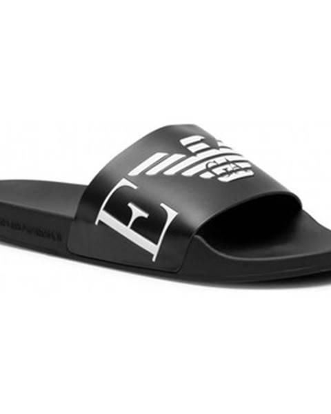 Viacfarebné topánky Emporio Armani