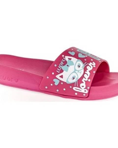 Ružové topánky Wink