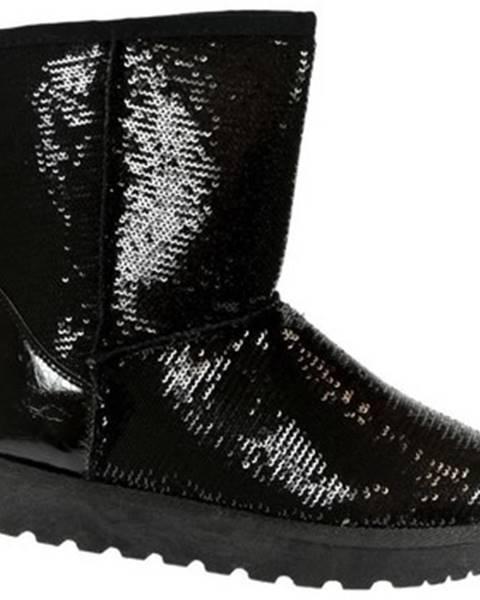 Čierne topánky Comer