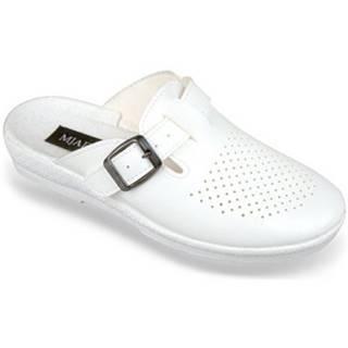 Nazuvky Mjartan  Dámske biele papuče  ANDREJKA