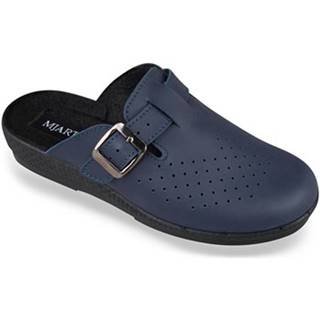 Nazuvky Mjartan  Dámske modré papuče  ANDREJKA