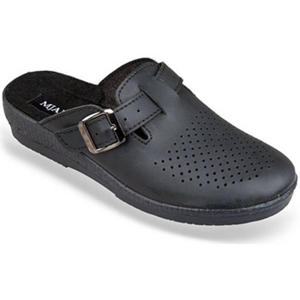 Mjartan Papuče Mjartan  Dámske čierne papuče  ANDREJKA