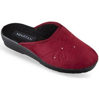 Papuče Mjartan  Dámske bordové papuče  SOŇA
