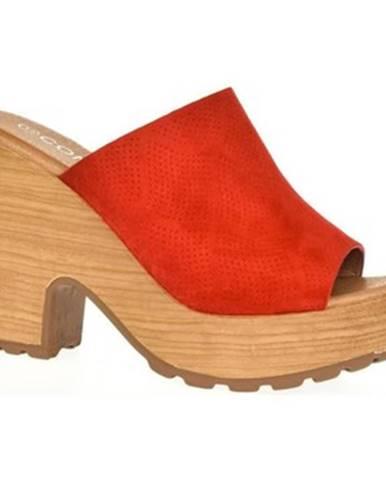 Červené dreváky Comer