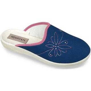 Papuče Mjartan  Dámske modré papuče  DANKA