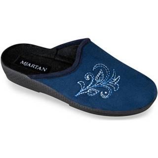 Papuče Mjartan  Dámske modré papuče  EDA