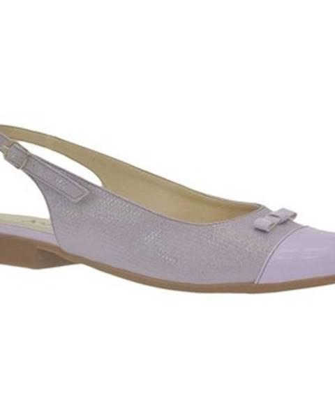 Fialové sandále John-C