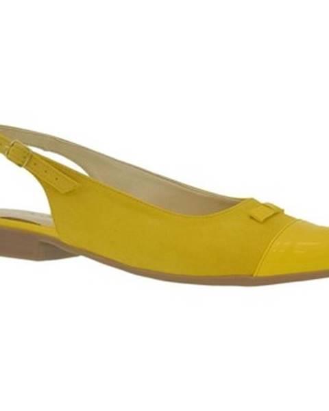 Žlté sandále John-C