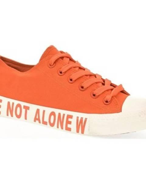 Oranžové tenisky Yes Smile
