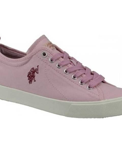 Ružové tenisky U.s Polo Assn
