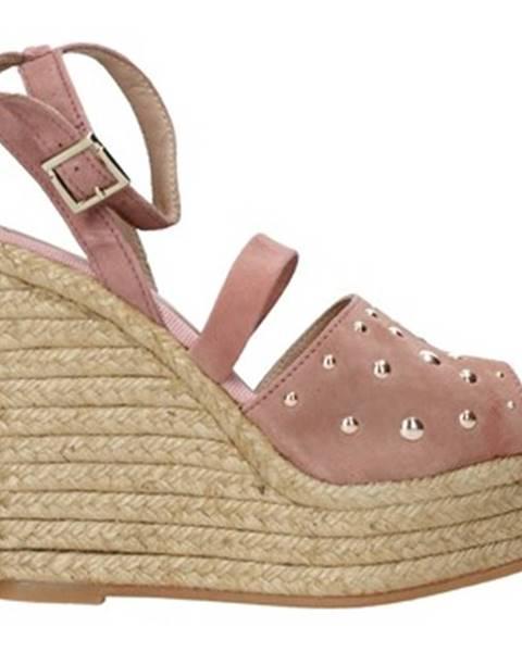 Ružové sandále Trussardi