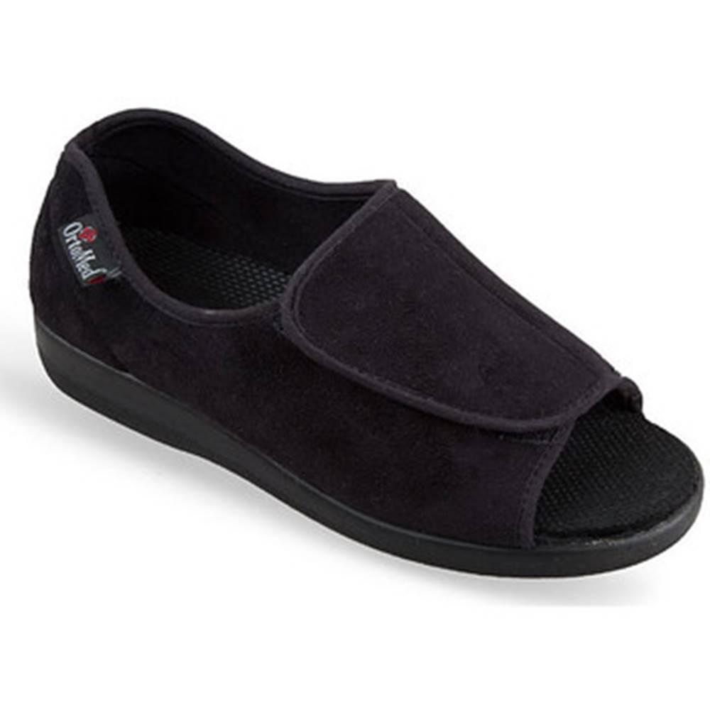 Mjartan Papuče Mjartan  Dámske čierne papuče  MILOTA