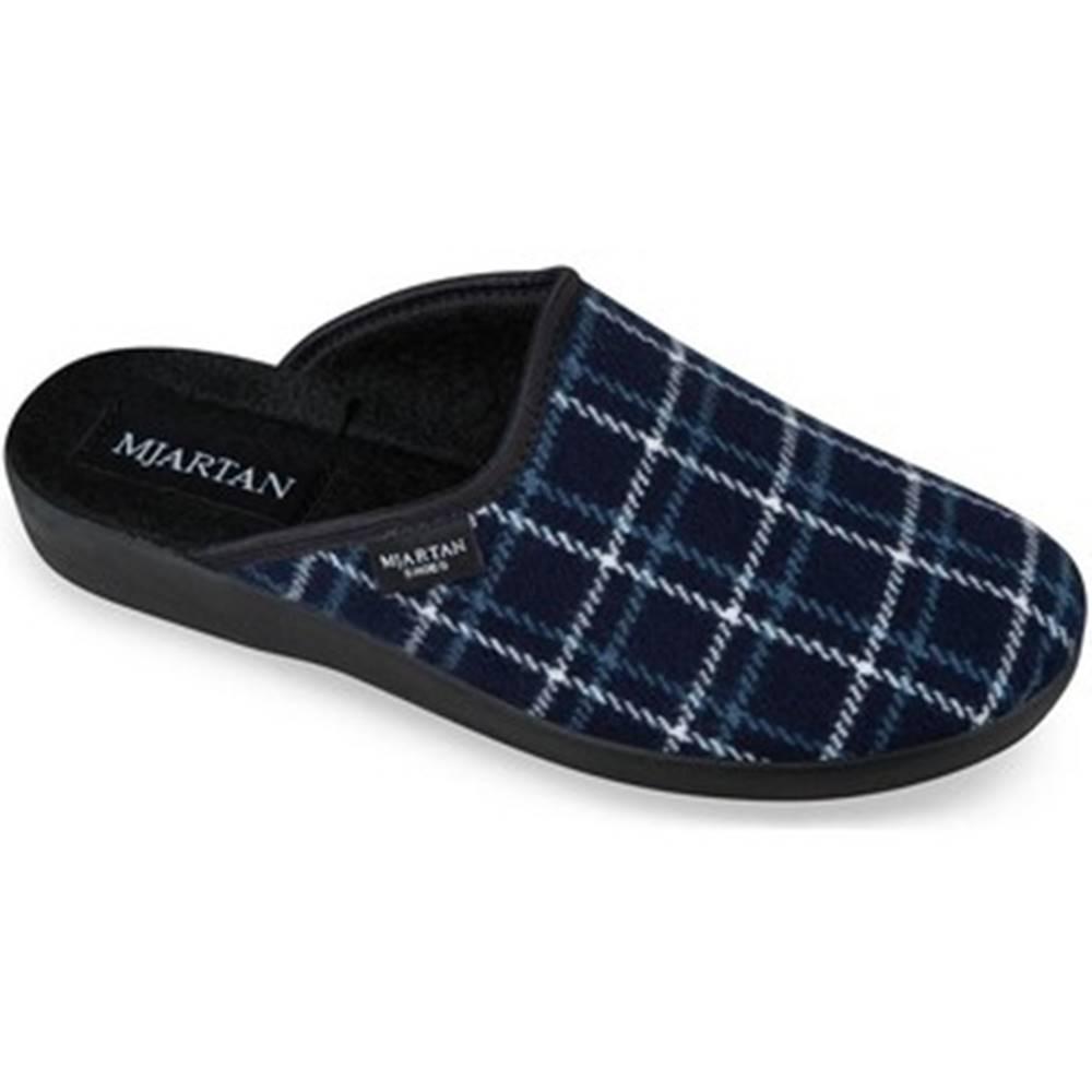 Mjartan Papuče Mjartan  Dámske modré papuče  LINES