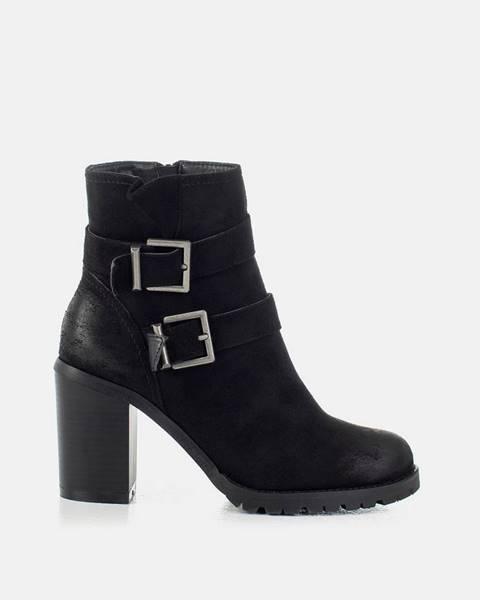 Čierne topánky musk