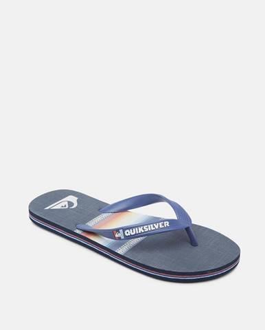 Modré sandále Quiksilver