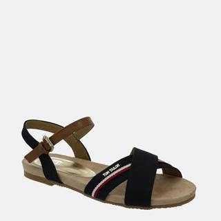 Tmavomodré dámske sandále Tom Tailor
