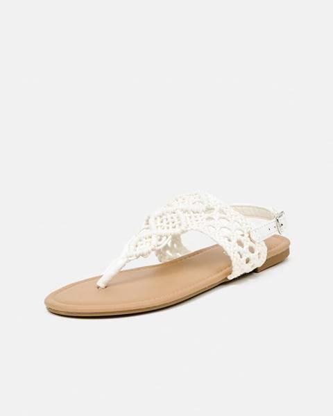 Krémové sandále hailys